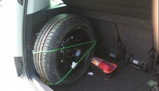 Куда девать запасное колесо после установки ГБО?