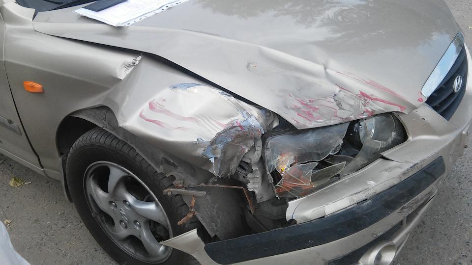 Аварийная ситуация и ремонт кузовных частей автомобиля