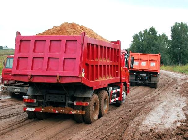 Строительство. Организация вывоза грунта