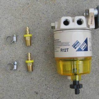 Сепаратор для дизельного топлива с подогревом