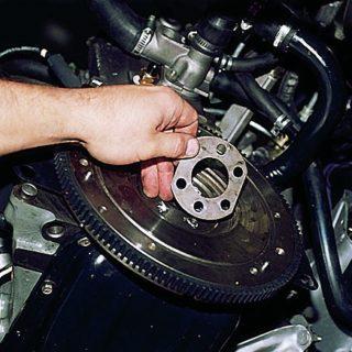 Как заменить маховик двигателя