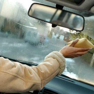 конденсат на стекле автомобиля, запотевает автостекло