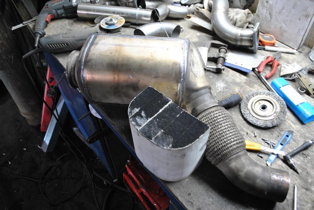 Последствия удаления сажевого фильтра на дизеле
