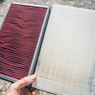 change air filter 8